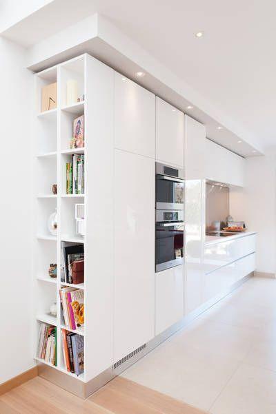 miniature Cuisine blanche design armony daumesnil finition extrême blanc modèle sigma, région parisienne, Séverine Kalensky - architecte d'intérieur