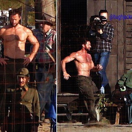 On the set from The Wolverine  #thehughjackman #hughjackman #actor #hollywood #australian #sexiestmanalive #musical #dancer #singer #talent #famous #unbeatable #beautiful #goodlooking #cool #warmhearted #friendly #attractive #famouspeople #thewolverine #movie #set #hot #muscles #body #sixpack