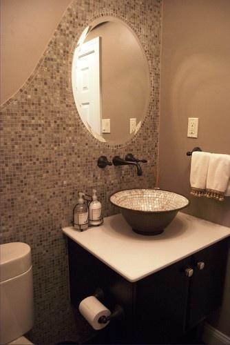 Half bath ideas half bath pinterest - Half bathroom ideas photo gallery ...