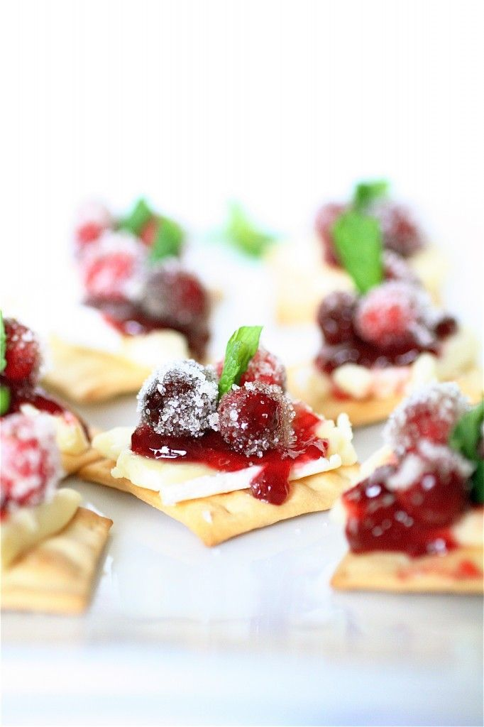 cranberry and brie bites, I could make an entire meal out of just this