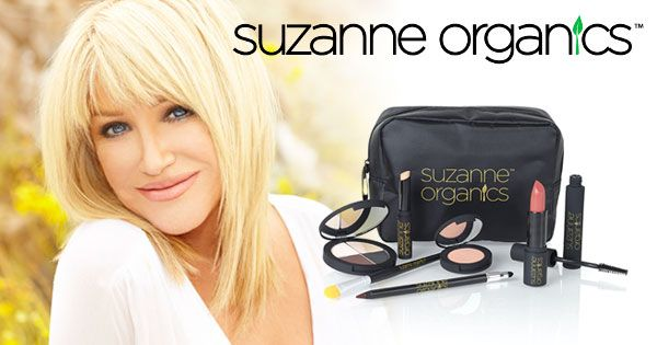 SuzanneSomers.com - Exclusive Facebook Offer! SUZANNE Organics Cosmetics