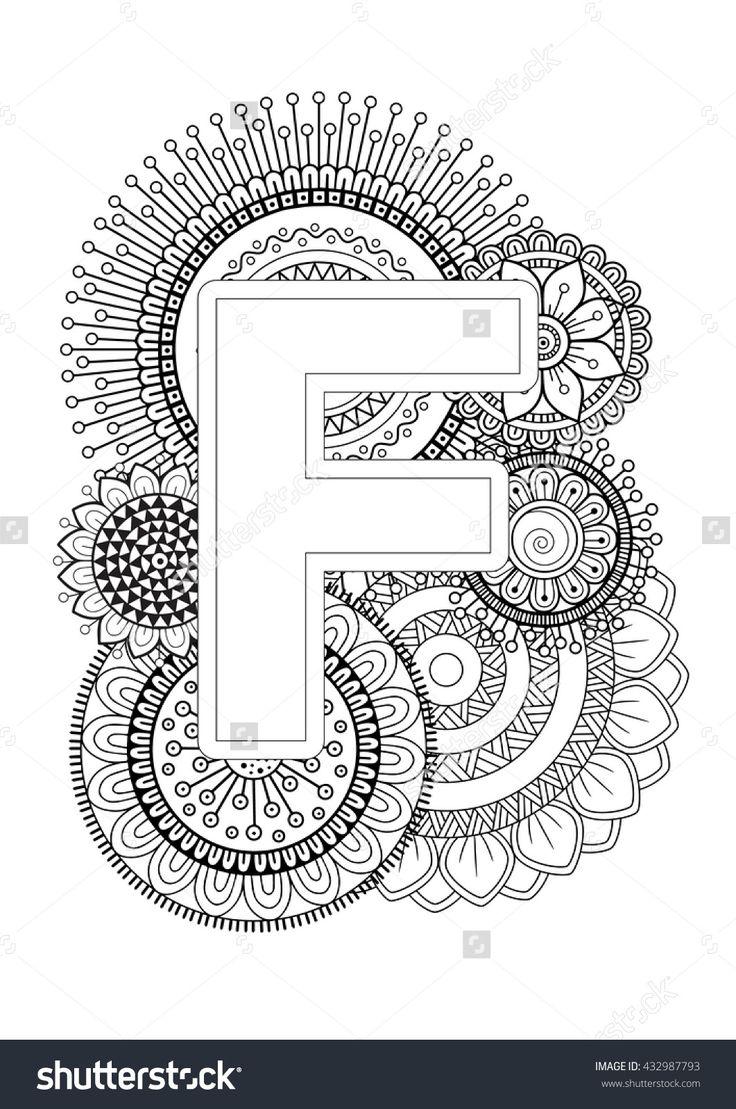 401 best abecedarios 01 images on pinterest doodles zentangles mandalas and porcelain. Black Bedroom Furniture Sets. Home Design Ideas