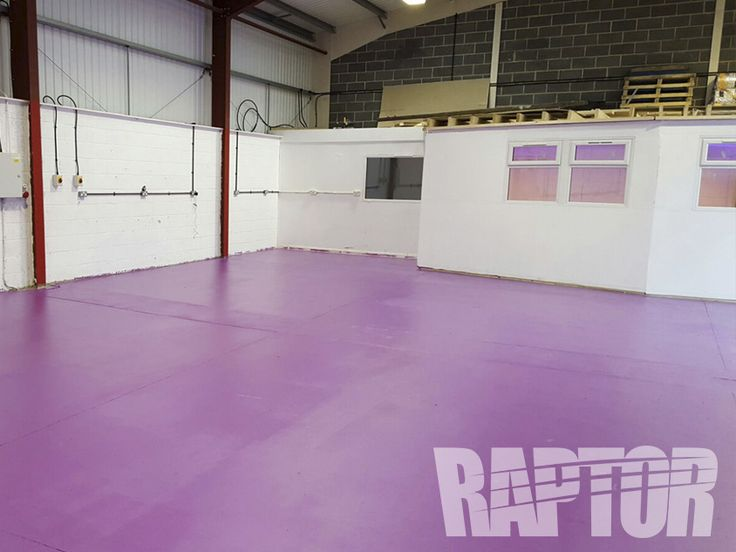 FLOOR: FULL OVERSPRAY #raptorised