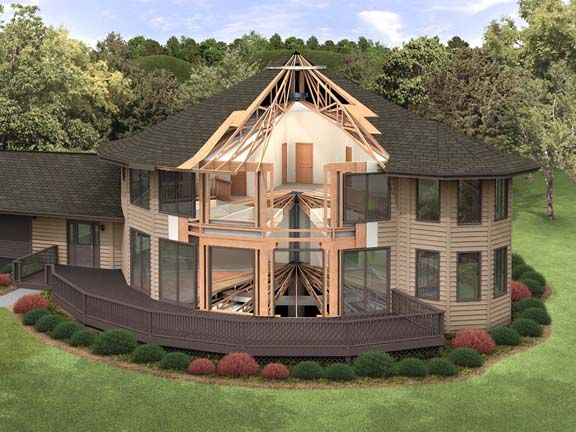 19 best deltec homes images on pinterest round house for Panelized cabins