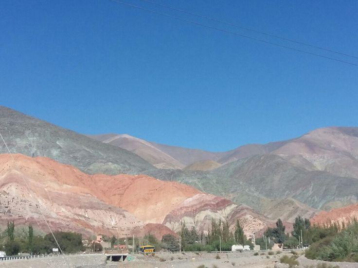 Cerro de Siete Colores, Purmamarca,Jujuy.