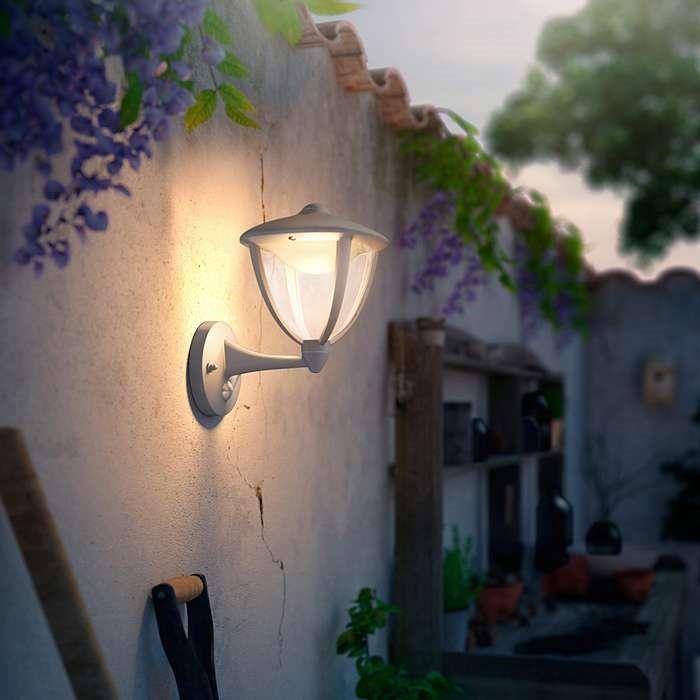 Philips myGarden Outdoor Kinkiet LED Robin z czujnikiem ruchu 15479/31/16 : Kinkiety zewnętrzne LED z czujnikiem ruchu : Sklep internetowy Elektromag Lighting #outdoor #lighting #garden