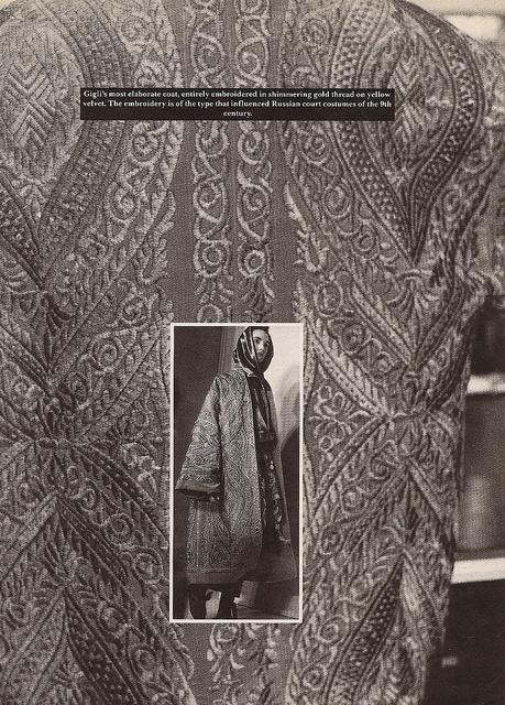 Romeo Gigli Coat. Detail Magazine - Art Director Annie Flanders, Photographer Bill Cunningham