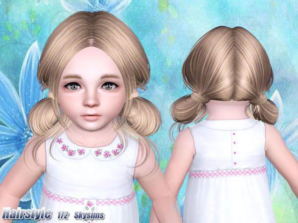 19 besten sims 3 female toddler hair bilder auf pinterest. Black Bedroom Furniture Sets. Home Design Ideas