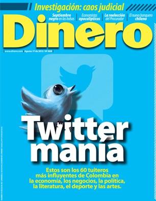 Dinero presenta los 60 tuiteros más influyentes de Colombia. Vea nuestra edición 404 acá http://bit.ly/NpyMec