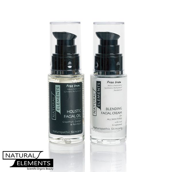 Natural Elements - Holistic 10 Years Younger Kit for oily or younger skin, re- freshes the skin, £32.99 (http://www.naturalelementsskincare.com/holistic-10-years-younger-kit-for-oily-or-younger-skin-re-freshes-the-skin/)