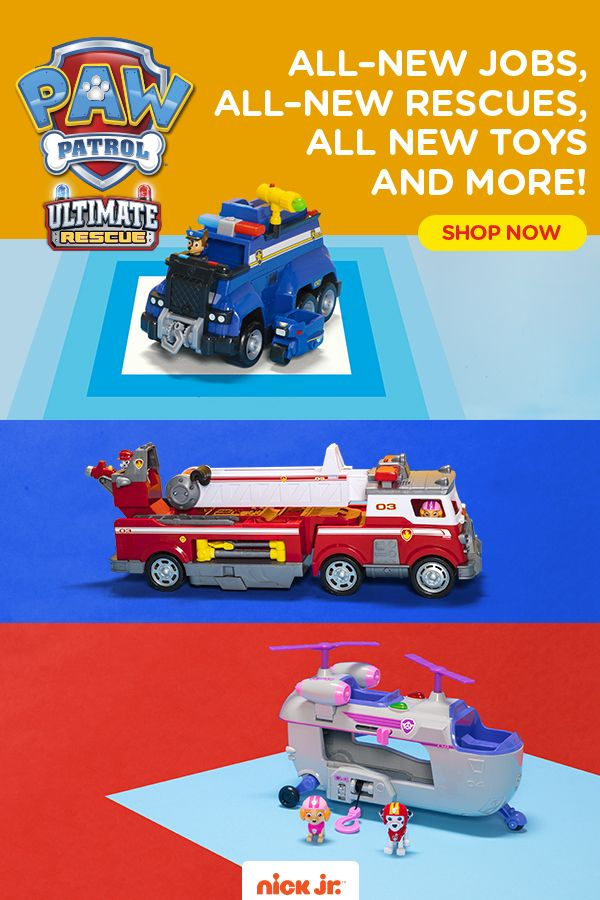 Paw Patrol Ultimate Rescue Is Here Get Ready For The Pups Biggest