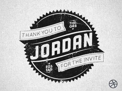 Thanks-for-the-invite: Emblem