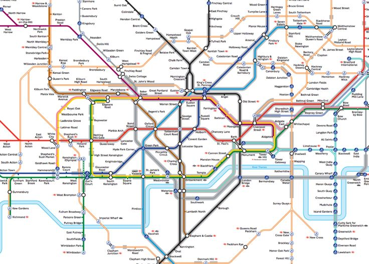 london underground the tube map now with lines highlighted in grey where the tube