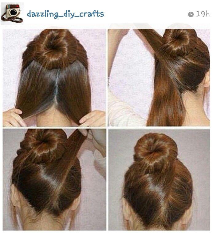 Simple hair tutorial - fancy ballerina bun