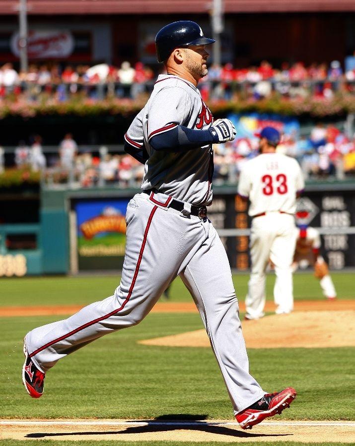 DRoss doin' his trot: Braves ️ ️, Phillies Fall, Philadelphia Phillies, Braves Baseball, Braves Runs, Mlb Baseball, Atlanta Braves