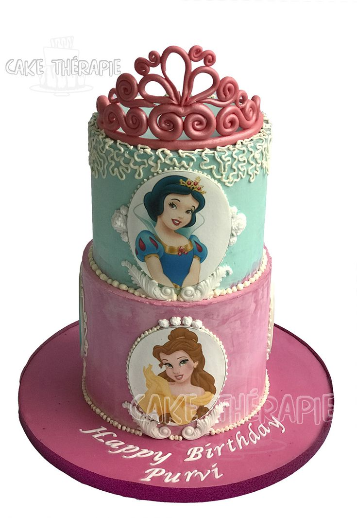 Princess themed Tiara cake.