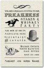 Preakness Stakes Billboard Invitation from TheInvitationShop.com