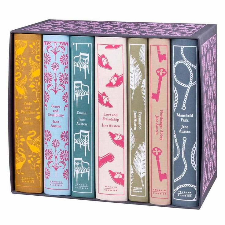 Penguin Classics - Jane Austen Box Set - Juniper Books - $159 - domino.com