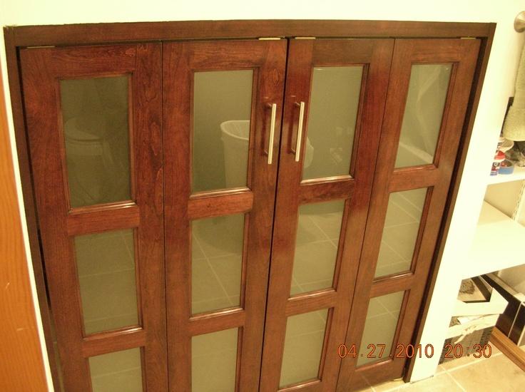 Cherry Bifold Doors