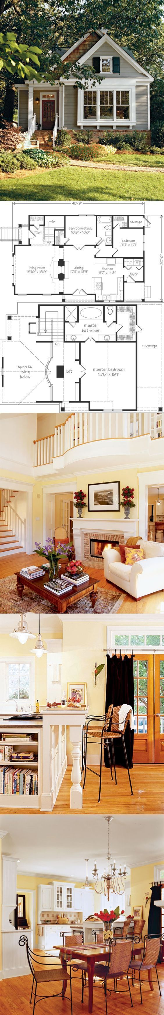 Beautiful Small House Floor Plan #inspiration #decor #floorplan #DIYHomeDecorLove