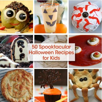 50 Halloween recipes for kids!