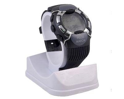 Reloj PULSOMETRO con Cuenta Calorias Negro Protección Metálica - http://regalosoutletonline.com/tienda/el/reloj-pulsometro-con-cuenta-calorias-negro-proteccion-metalica-5