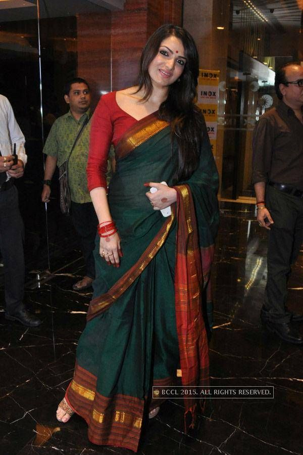 Tanusree Chakraborty at Nirbaak: Premiere