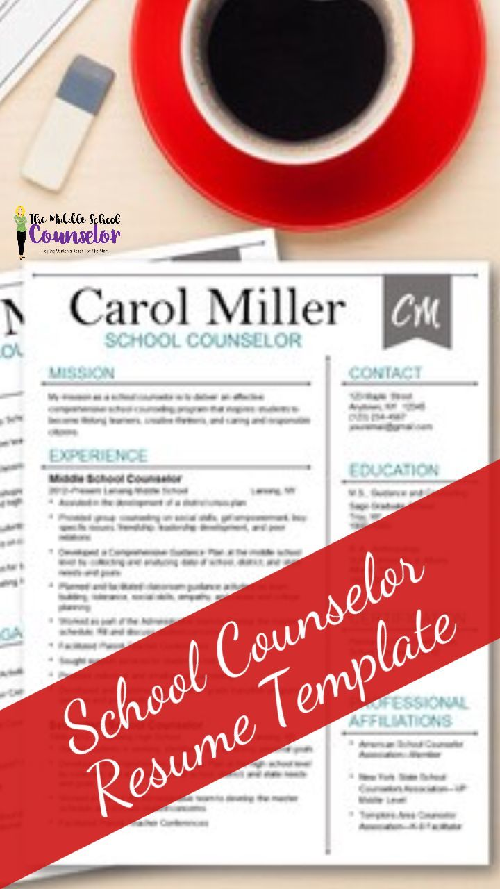 Resume template for Counselors. If your resume doesn't stand out, will you?