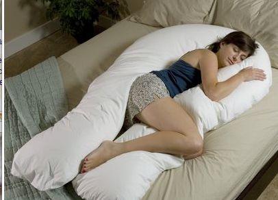 Una almohada para los que les gusta dormir abrazados