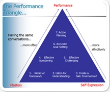 The Performance Triangle by Leaders in Progress