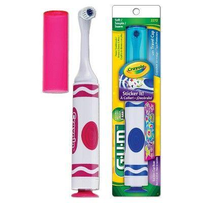 Gum Crayola Battery-Powered Toothbrush