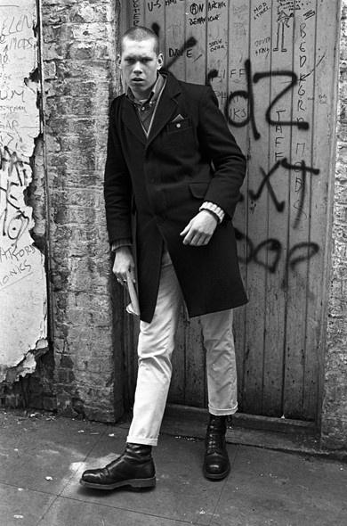 Skinhead, 1981. Fotografia: Derek Ridgers.