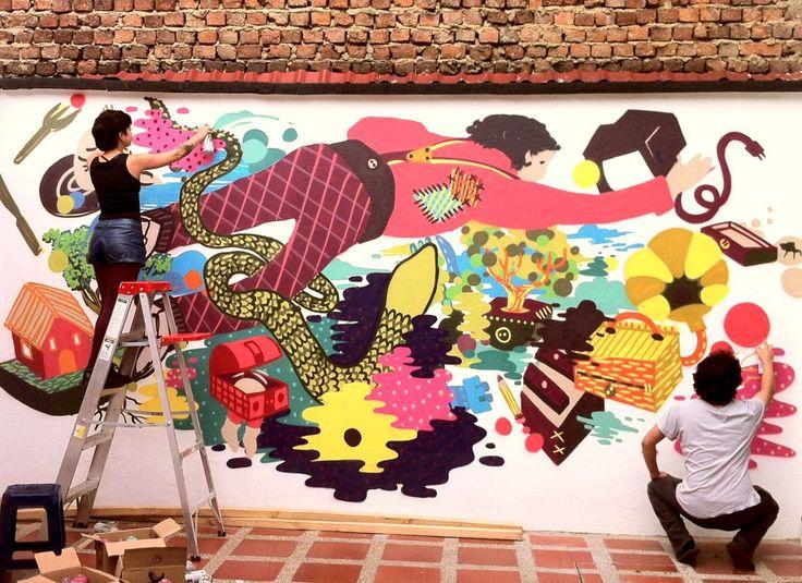 LEDANIA - I Support Street ArtI Support Street Art