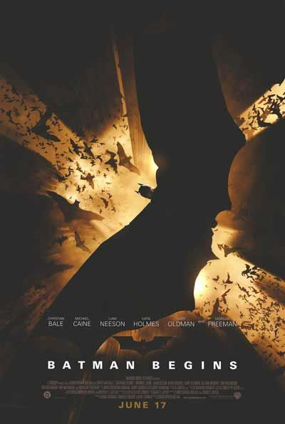 2005.   After training with his mentor, Batman begins his war on crime to free the crime-ridden Gotham City from corruption that the Scarecrow and the League of Shadows have cast upon it. Stars: Christian Bale, Michael Caine, Ken Watanabe.