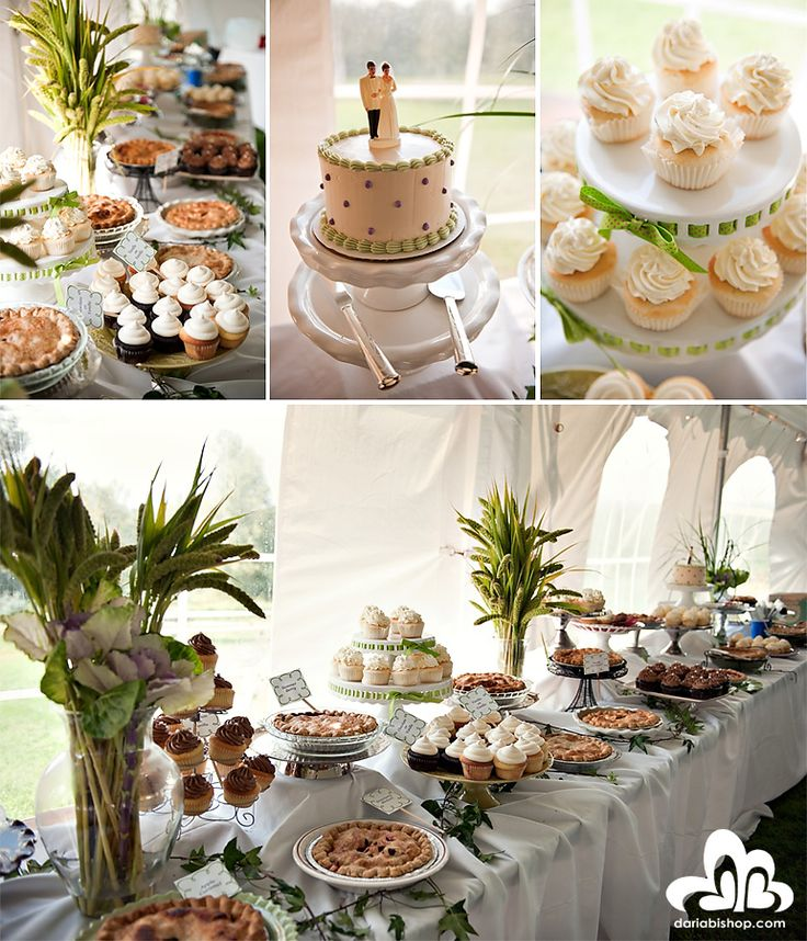 Dessert table pies are a great idea dessert tables for Table cuisine en pin
