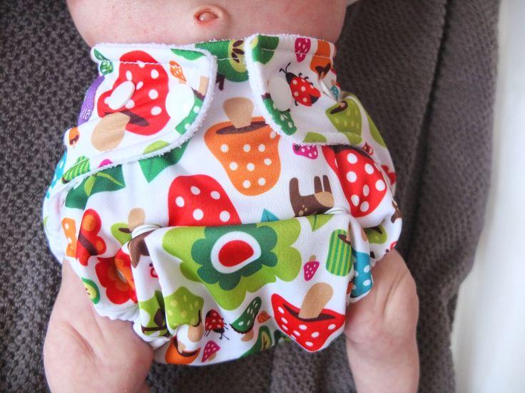 Fraldas reutilizáveis de recém nascido