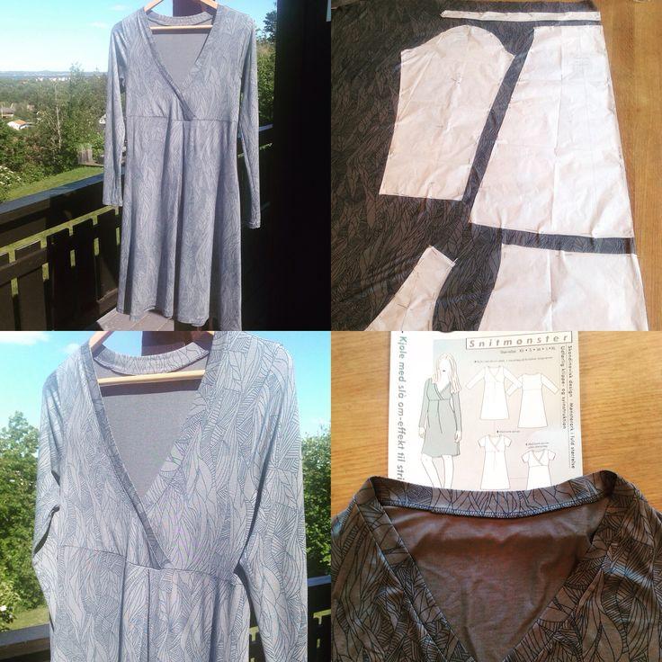 Kjole sydd i jersey