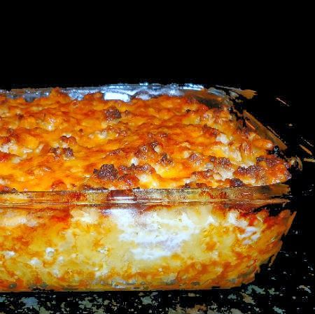 One Perfect Bite: Frugal Foodie Friday - Finnish Macaroni Casserole