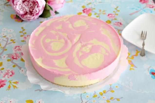 Duo Kwarktaart Citroen Aardbei                              -                                  De taart lijkt een beetje op een vlaflip. Twee lekkere smaken door elkaar! Ideaal voor wie niet kan kiezen ;-)