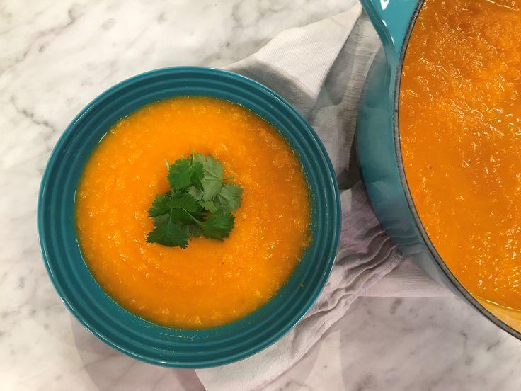 Nicoles morotssoppa med ingefära och koriander | Recept från Köket.se