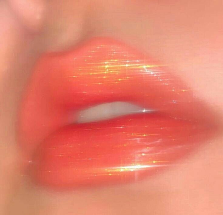 Sparkle Aesthetic Makeup Peach Aesthetic Aesthetic Photography