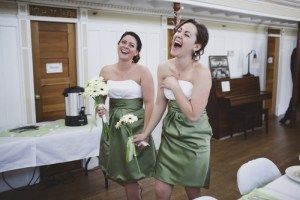 Bridesmaids have a good time - Wedding Photography by Lorena Astrid
