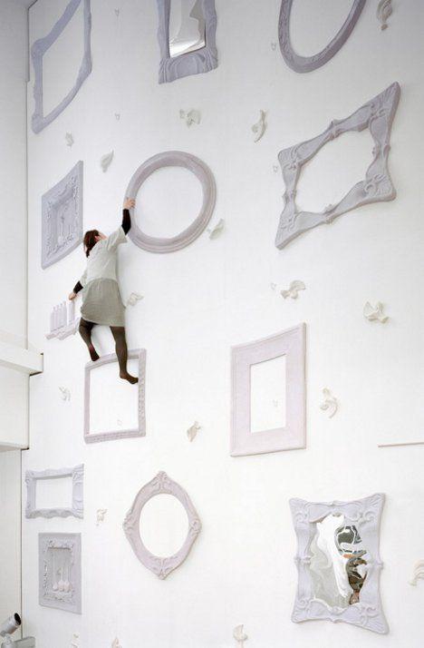 Tokyo: Alice in Wonderland climbing wall