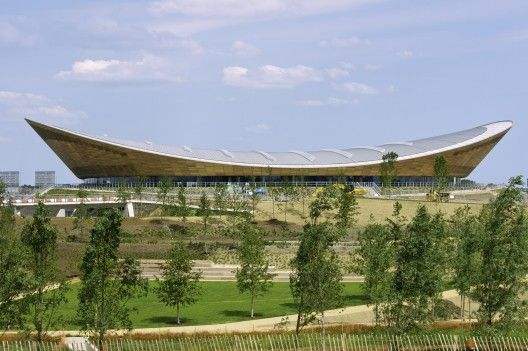 London 2012 Velodrome Architects: Hopkins Architects  Location: Velodrome, London Borough of Newham, London E15, UK  Project Year: 2012  Photographs: Richard Davies, David Poultney, Anthony Charlton, Hopkins Architects, Anthony Palmer