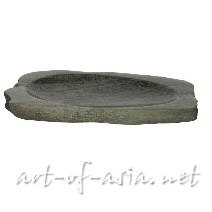 Schale, 038cm, versteinertes Holz - art-of-asia.net