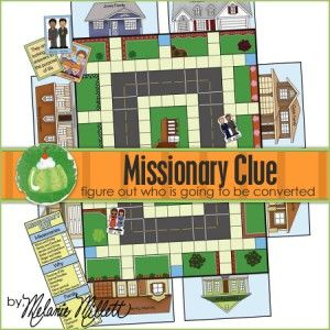 Importance of Missionary Work lesson; missionary clue, purchase and download pdf