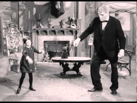 ♥ The Munsters - Addams teaches Lurch to dance in Season 2 Episode 29 Lurch's Grand Romance