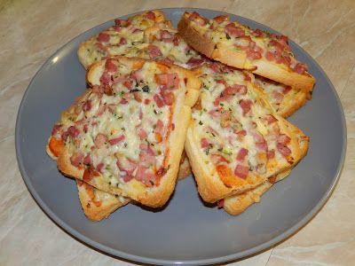 MAKE-FOOD: Zapečený toastový chléb
