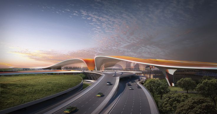 Beijing New Airport Terminal Building - Architecture - Zaha Hadid Architects