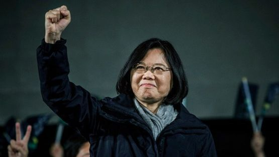 Taiwan's first female leader, shy but steely Tsai Ing-wen